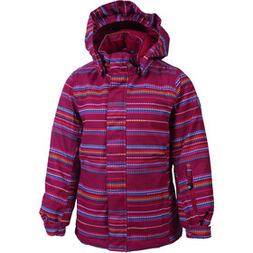Color Kids Donja Veste de ski rembourrée Fille, raspberry